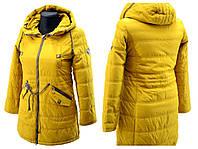 Удлинённые куртки на девочек (Осень-весна) 25021