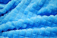 Покрывала ЕВРО 220*200 Микрофибра (голубое)