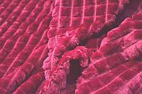 Покривала ЄВРО 220*200 Мікрофібра (бордова), фото 1