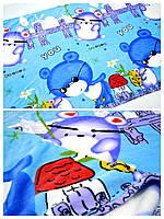 """Покривала дитяче """"Ведмедик на блакитному"""" (мікрофібра), фото 1"""