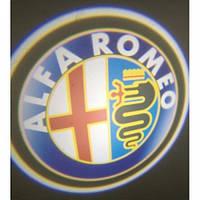 Подсветка дверей авто - Alfa Romeo