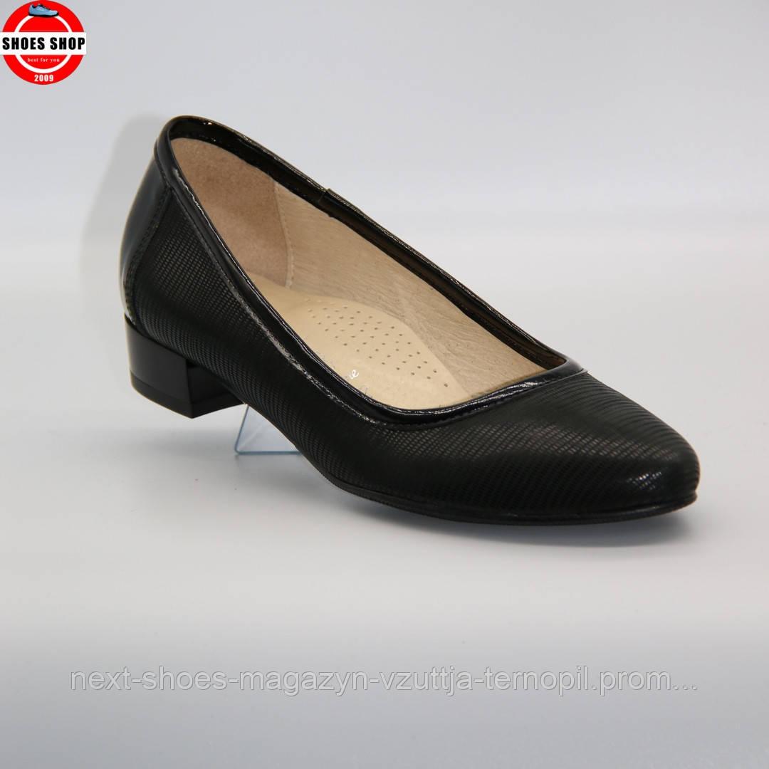 Жіночі балетки Steizer (Польща) чорного кольору. Дуже зручні та красиві. Стиль - Rosamund Pike