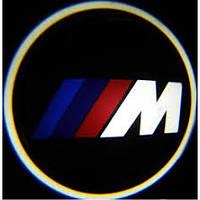 Подсветка дверей авто - BMW M-серия.