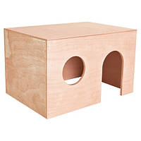 Trixie Guinea Pig House деревянный домик для морской свинки 27х17х19см