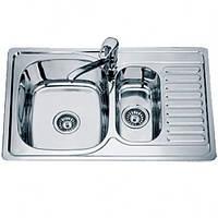 Мойка кухонная стальная Trion 50 x 78D декор (53949)
