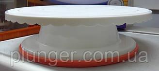 Вращающаяся подставка для торта, 27 см х 7,5 см