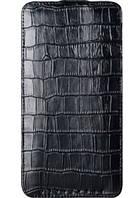 Чехол для HTC Desire 300 - Vetti Craft flip Crocodile Printed Pattern