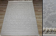Ковры для дома, ковер в квартиру, ковры полушерстяные рельефные, светлый классический ковер 400х500см или 4х5