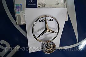 Значок эмблема на капот Mercedes S W220 1998-2006 новая оригинал