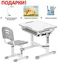 Комплект для детей парта и стульчик, Evo-06 + лампа, фото 1
