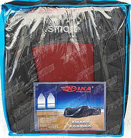 Авточехлы Smart Fortwo 450 1998-2006 (красный) Nika