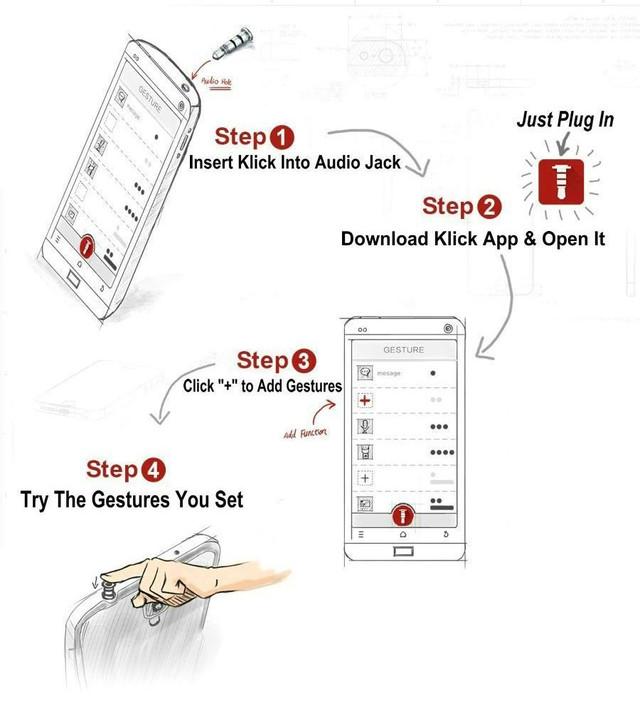 Декоративная смарт кнопка-заглушка Smart Key v2.0 для Android установка