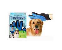 Перчатка для вычесывания шерсти домашних животных True Touch арт. 51004