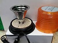 Мигалка-Страбоскоп диодная 12/24В RD-213 -30 оранжевая