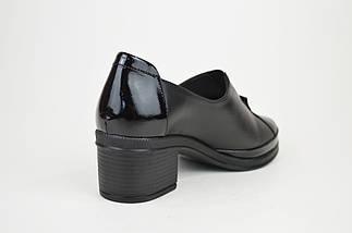 Туфли кожаные на каблуке 756891, фото 2