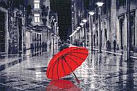 ЗОЛОТОЕ РУНО Набор для вышивания Красный зонтик