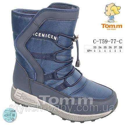 Дитяче зимове взуття 2019 оптом. Дитяче зимове взуття бренду Tom.m для хлопчиків (рр. з 33 по 38), фото 2
