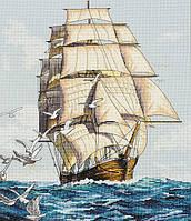DIMENSIONS Набор для вышивания Clipper Ship Voyage\Морское путешествие
