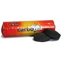 Легковоспламеняющийся уголь Carbopol 35 мм