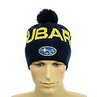 """Молодежная мужская шапка """"Subaru"""", фото 1"""