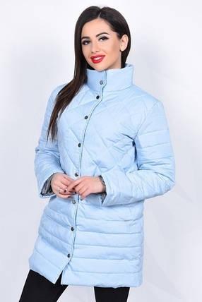 Стеганая удлиненная куртка, фото 2