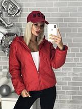 Стильная стеганая женская куртка, фото 3