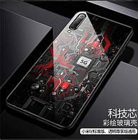 Aixuan стеклянный чехол для Xiaomi mi 9 SE чехол из закаленного стекла  силиконовый защитный