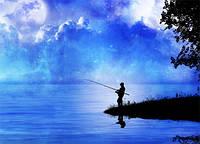 Так и манит река в День рыбака!