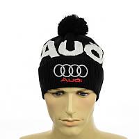 "Молодежная мужская шапка ""Audi"", фото 1"