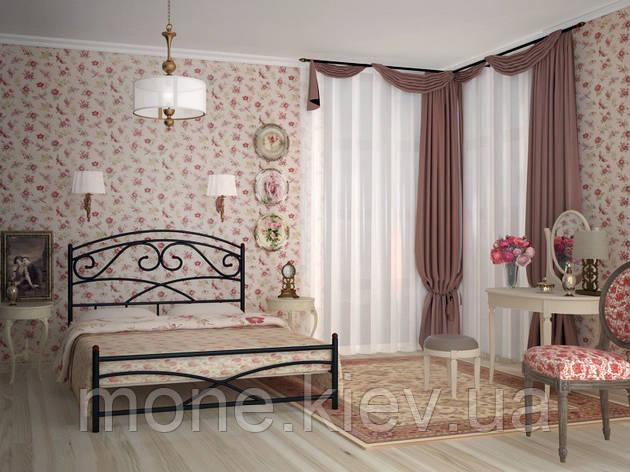 """Кровать из металлических труб """"Лейла"""", фото 2"""