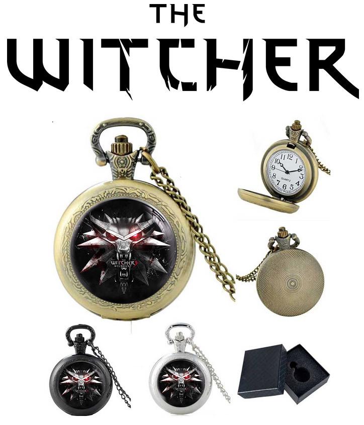 Часы Амулет Ведьмак / Тhe Witcher