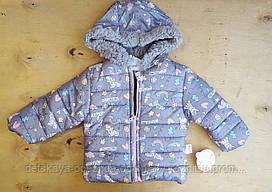 Куртка детская, плащевка, вельсофт 4-5-6 лет
