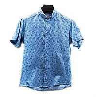 Рубашки мужские с коротким рукавом (р.р. S-2XL норма) Турция, от 5 шт.
