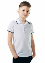 Детское поло для мальчика Школьная форма для мальчиков SMIL Украина 114593