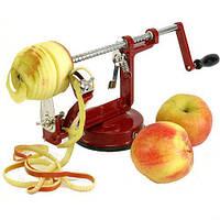 Ручная яблокочистка (Яблокорезка) Core Slice Peel прибор для чистки яблок