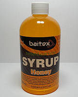 Сироп для прикормки baitex Syrup pellet&particle Honey, 350 ml (МЕД)