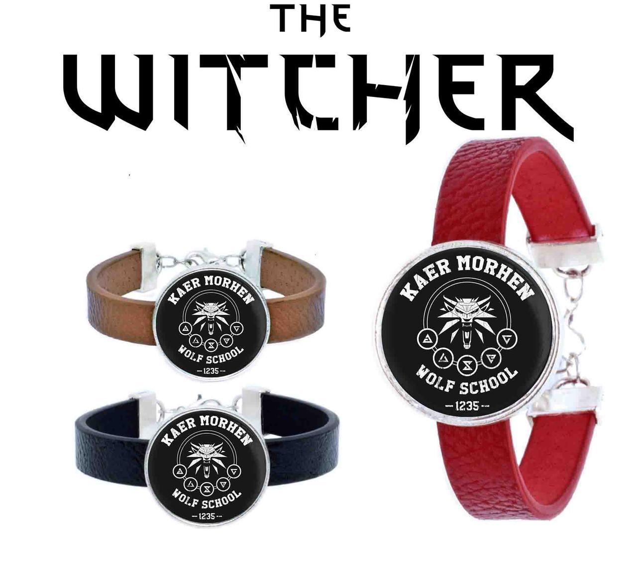 Браслет Kaer Morhen Wolf school Ведьмак / Тhe Witcher