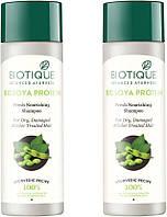 "Шампунь ""Био соя"" 120 мл, Биотик (Shampoo Bio Soya protein 120 ml, Biotiquе)"