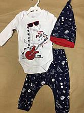 Дитячий комплект для дівчинки Одяг для дівчаток 0-2 Miniworld Туреччина 14486 Білий