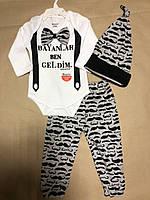 Детский комплект для девочки Одежда для девочек 0-2 Miniworld Турция 14161
