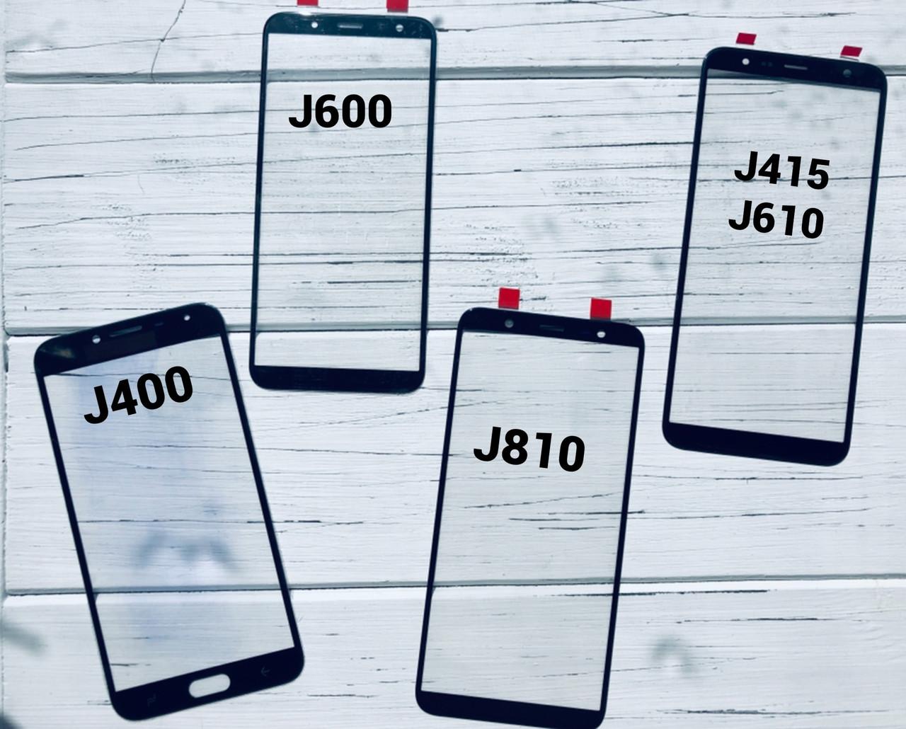Стекло дисплея для Samsung J610 Samsung J6 Plus Galaxy, черное