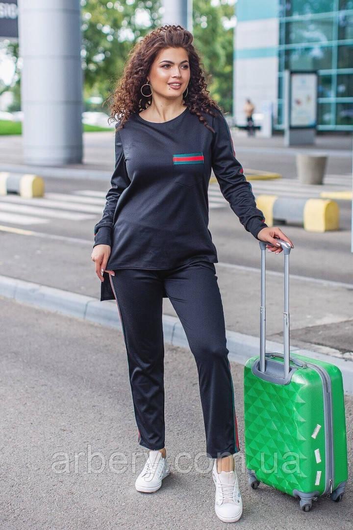 Женский батальный  спортивный костюм Gucci