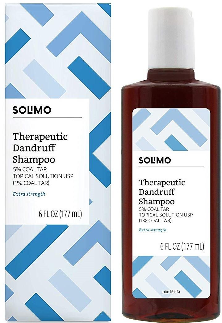 Solimo® Усиленный Терапевтический Шампунь от Перхоти, Псориаза и Себореи, 177 мл.