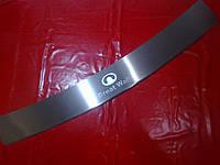 Накладка на задний бампер с загибом HAVAL H3-H5