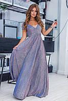 """Платье женское люрексовое с галограммой, размеры 42-46 (6цв) """"SVETLANA"""" недорого от прямого поставщика"""
