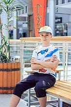 Дитяча кепка для хлопчика BIMBUS Італія 161IFLA002 Білий