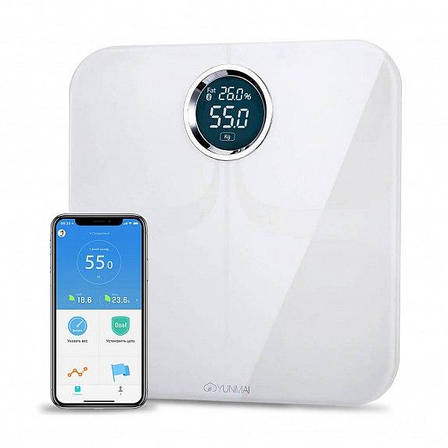 Весы YUNMAI Premium Smart Scale White (M1301-WH), фото 2