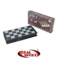 Набор игровой 3 в 1 IG-48812 (Шахматы, шашки, нарды)