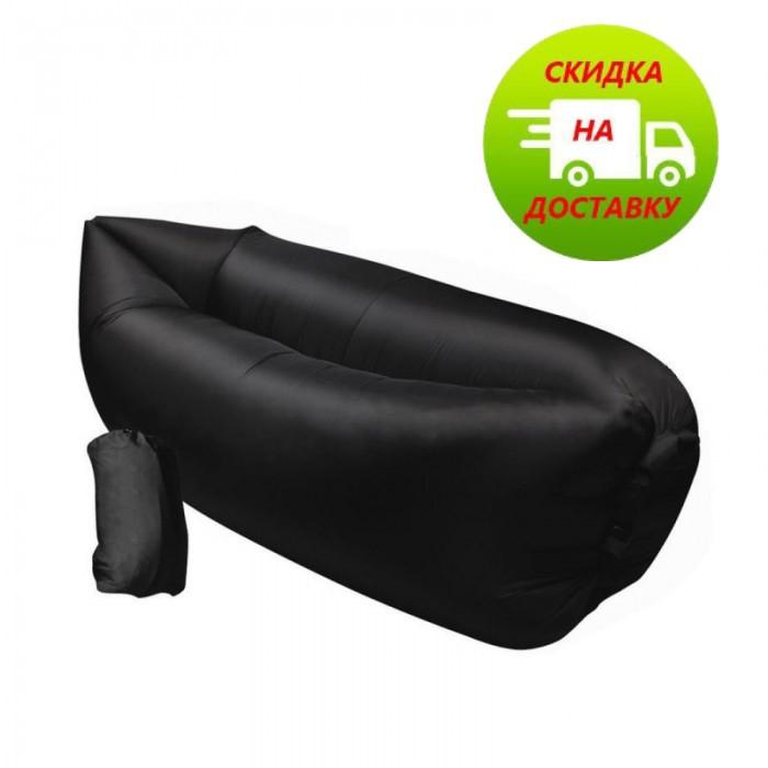 Ламзак| диван| надувной матрас| мешок | Lamzac AIR CUSHION | Черный