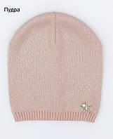 Красивая осенняя шапка для девочки, фото 1